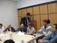 (De gauche à droite) Jean-Philippe, Daniel, Sylvain, Vincent, Ali, Jorge.