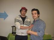 (De gauche à droite) Ali, Jorge.